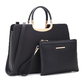 Black Briefcase and Accessory